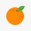 Icono de la economía naranja