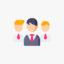Icono del liderazgo empresarial