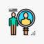 Icono del muestreo no probabilístico