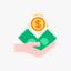Icono de fuentes de financiamiento