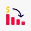 Icono representativo de la estanflación