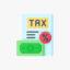 Icono representativo de los impuestos